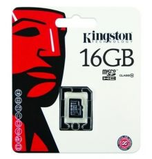 Kingston Canvas Micro SD card 16GB - 10 Class| Armenius Store