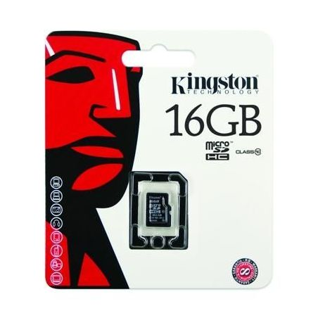 Kingston Canvas Micro SD card 16GB - 10 Class| Armenius Store