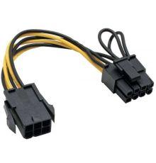PCI express Adapter 6 Pin to 8 Pin|armenius.com.cy