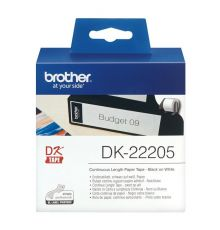 Brother DK-22205 Continuous Paper Label Roll 62mm