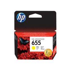 HP 655 Original Ink Cartridge Yellow (CZ112AE)|armenius.com.cy