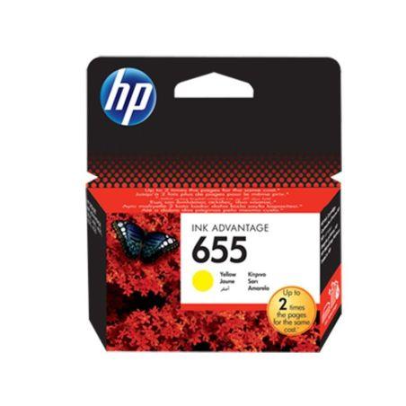HP 655 Original Ink Cartridge Yellow (CZ112AE)  Armenius Store