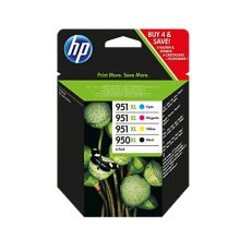 HP 950XL/951XL 4-pack original ink|armenius.com.cy