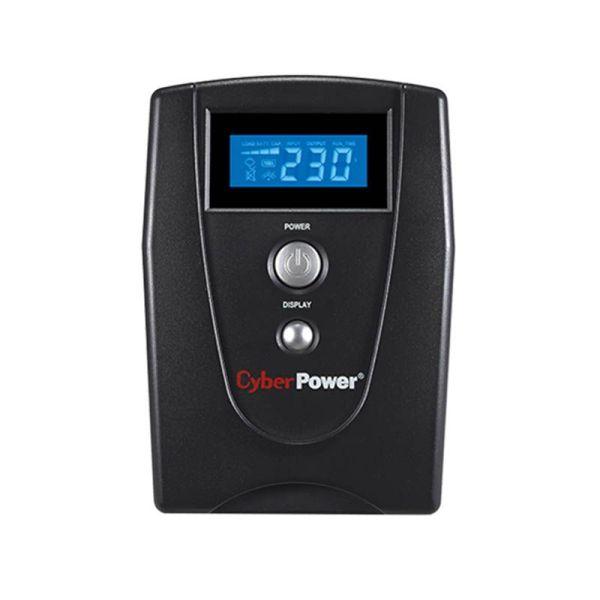 UPS CyberPower Line Interactive 600VA/ 360W/ VALUE600ELCD|armenius.com.cy