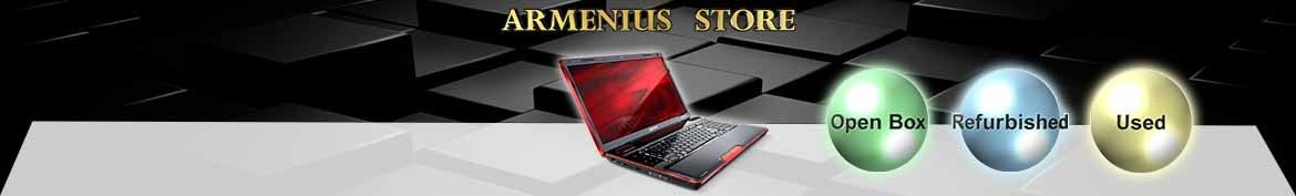 Refurbished, open box laptop with warranty -  Armenius store